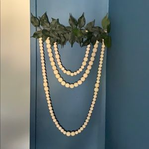 Other - Wood beads wreath
